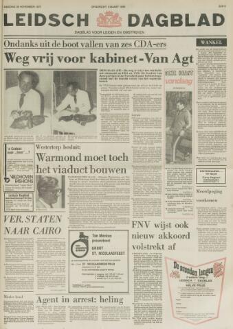 Leidsch Dagblad 1977-11-29