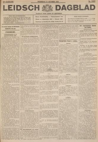 Leidsch Dagblad 1928-10-31