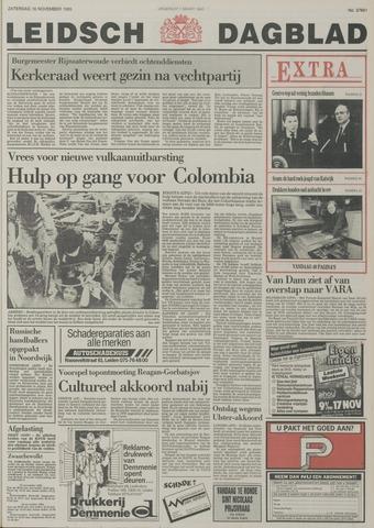 Leidsch Dagblad 1985-11-16