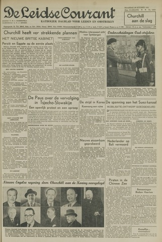 Leidse Courant 1951-10-29