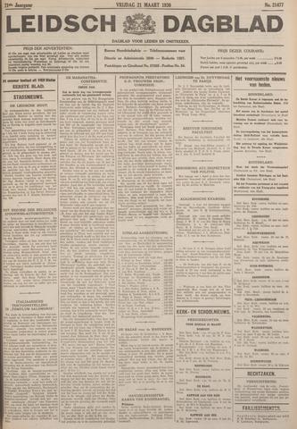 Leidsch Dagblad 1930-03-21