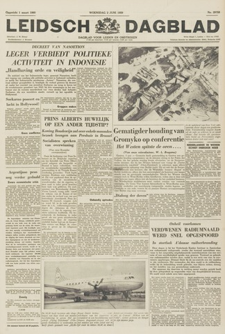 Leidsch Dagblad 1959-06-03