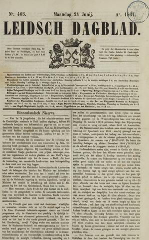 Leidsch Dagblad 1861-06-24
