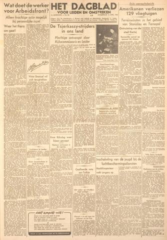 Dagblad voor Leiden en Omstreken 1944-04-13