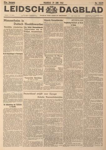 Leidsch Dagblad 1942-06-29