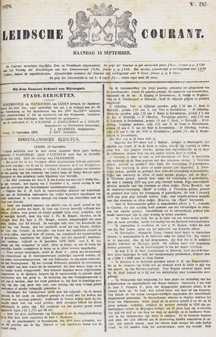 Leydse Courant 1879-09-15