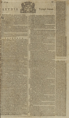 Leydse Courant 1754-01-11
