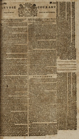 Leydse Courant 1784-09-29