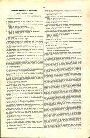Handelingen van de Raad 1885-10-22