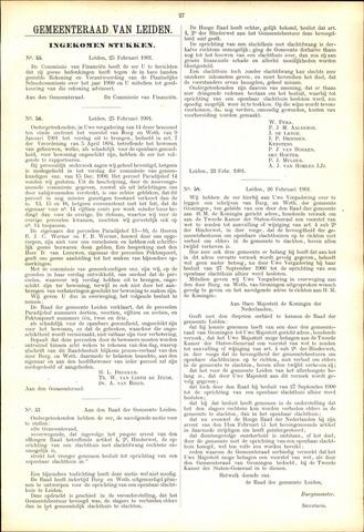 Handelingen van de Raad 1901-02-25