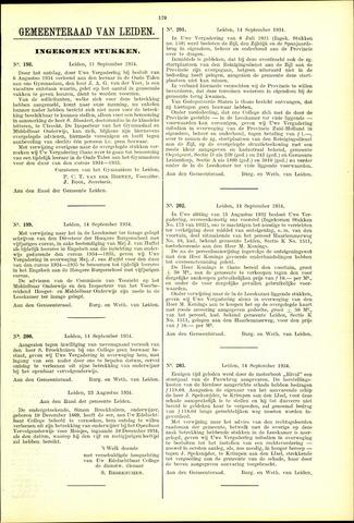 Handelingen van de Raad 1934-09-11