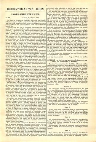 Handelingen van de Raad 1910-02-03