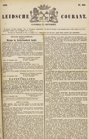 Leydse Courant 1883-09-26