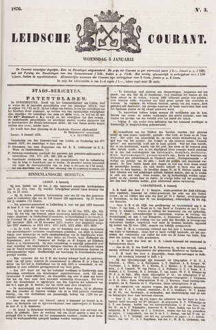 Leydse Courant 1876-01-05