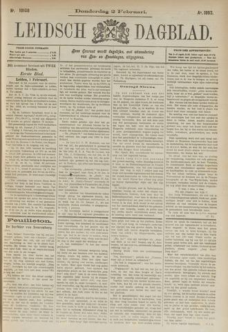 Leidsch Dagblad 1893-02-02