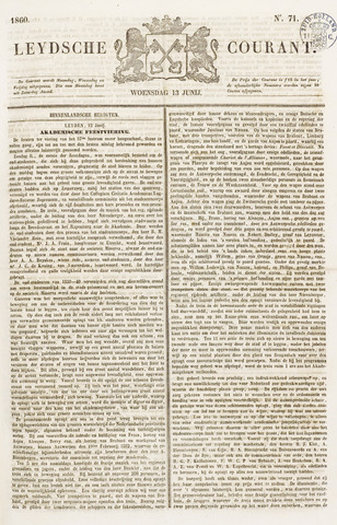 Leydse Courant 1860-06-13