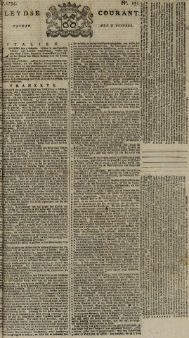 Leydse Courant 1794-10-31