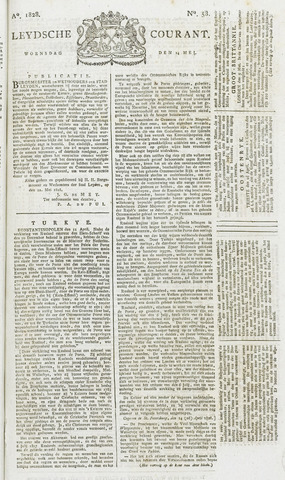 Leydse Courant 1828-05-14