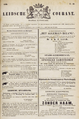 Leydse Courant 1882-02-13