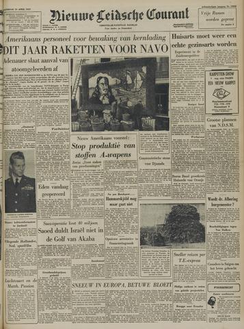 Nieuwe Leidsche Courant 1957-04-13