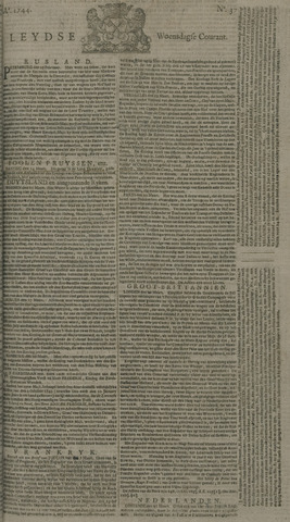 Leydse Courant 1744-03-25