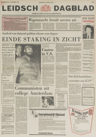 Leidsch Dagblad 1979-10-11