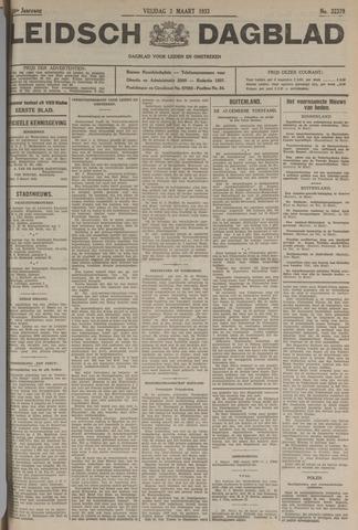 Leidsch Dagblad 1933-03-03