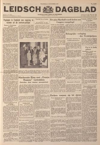 Leidsch Dagblad 1947-11-17
