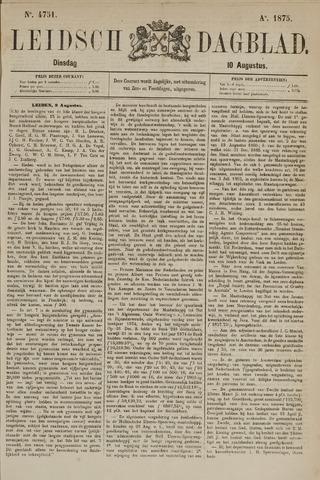 Leidsch Dagblad 1875-08-10