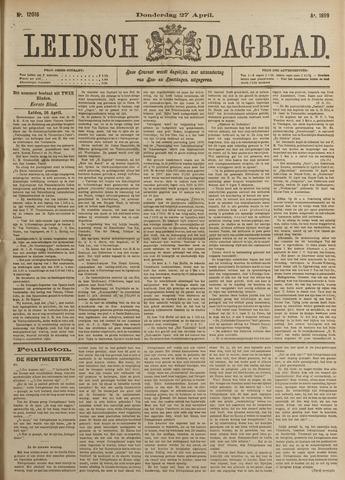 Leidsch Dagblad 1899-04-27