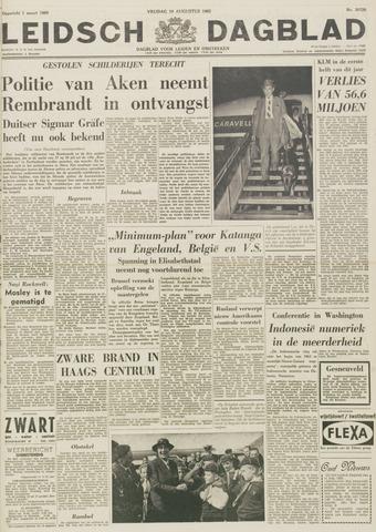 Leidsch Dagblad 1962-08-10