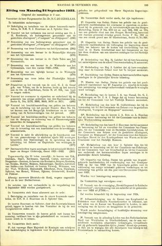 Handelingen van de Raad 1923-09-24