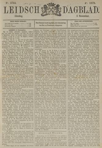 Leidsch Dagblad 1878-11-05