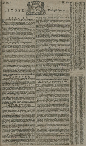 Leydse Courant 1748-11-08