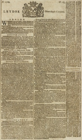 Leydse Courant 1769-11-27