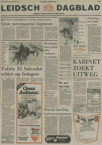 Leidsch Dagblad 1980-02-13