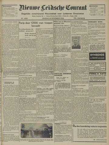 Nieuwe Leidsche Courant 1938-11-29