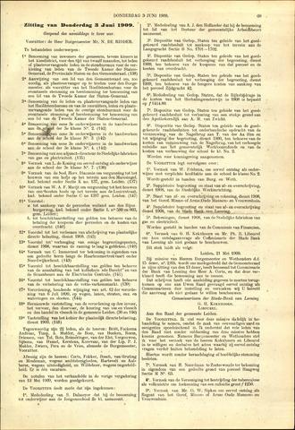 Handelingen van de Raad 1909-06-03