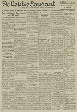 Leidse Courant 1949-08-22