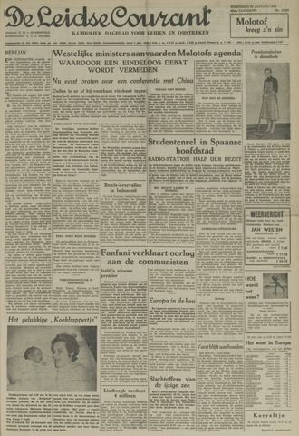 Leidse Courant 1954-01-27