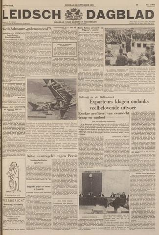 Leidsch Dagblad 1951-09-11