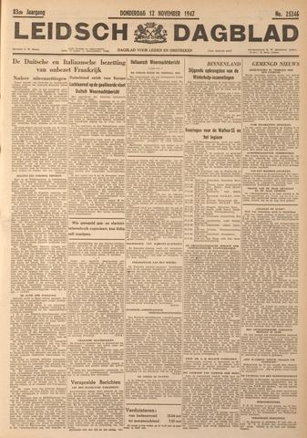 Leidsch Dagblad 1942-11-12