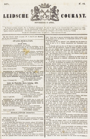 Leydse Courant 1871-04-06