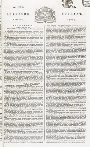 Leydse Courant 1839-07-08