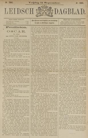 Leidsch Dagblad 1885-09-11