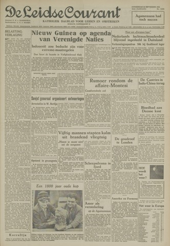 Leidse Courant 1954-09-23