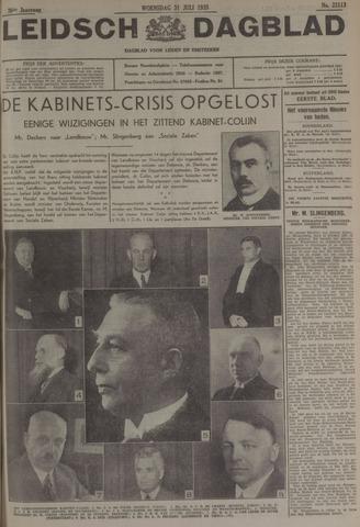 Leidsch Dagblad 1935-07-31