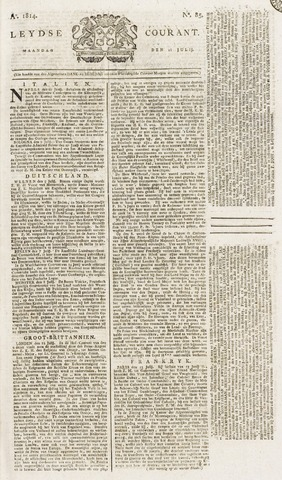 Leydse Courant 1814-07-18
