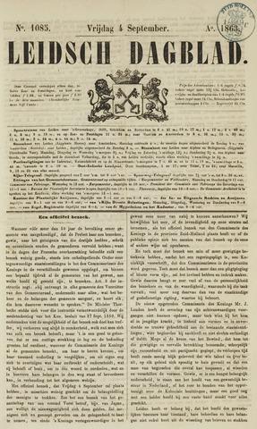 Leidsch Dagblad 1863-09-04