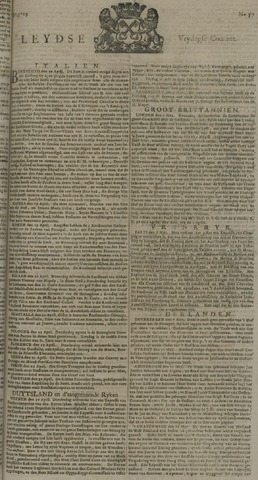 Leydse Courant 1729-05-13